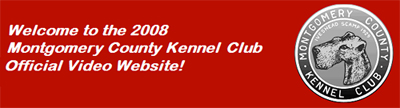 Montgomery County Kennel Club Official Video Website