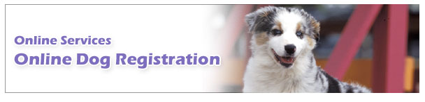 Online Dog Registration