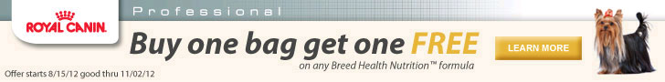 Buy one bag, get one free on any Breed Health Nutrition formula.