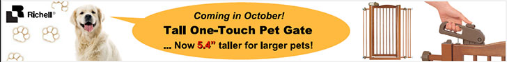 Coming in October! Tall One-Touch Peet Gate.