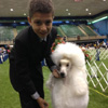 Junior with dog
