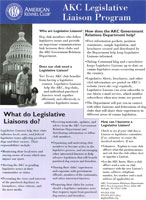 AKC Legislative Liaison Program