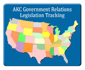 AKC Government Relations Legislation Tracker