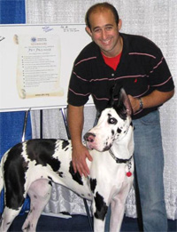 Rob Calarco at Meet the Breeds