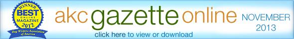 AKC Gazette Online