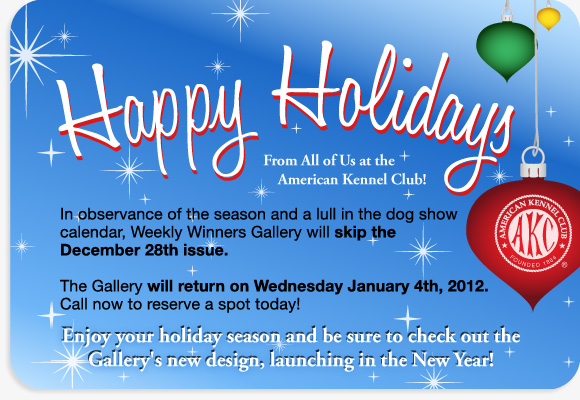 Gallery holiday schedule