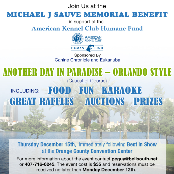 Join us at the Michael J. Suave Memorial Benefit. Learn more
