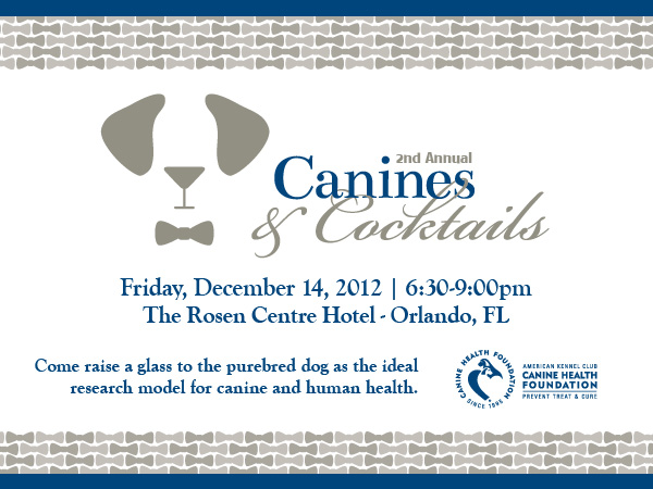 Join Us at the 2nd Annual Canines and Cocktails