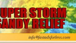 Super Storm Sandy Relief