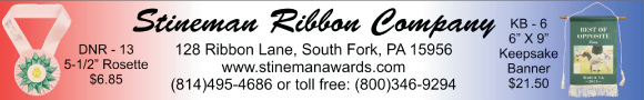 Stineman Ribbon Company, phone (800) 346-9294