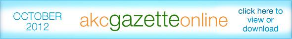 October's Gazette, online now
