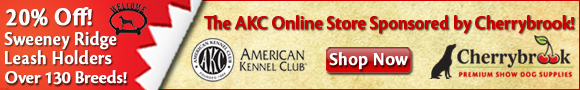 20% Off. The AKC Store at Cherrybrook