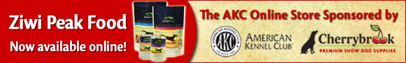 Ziwi Peak Food - Now available online! The AKC Online Store Sponsored by Cherrybrook