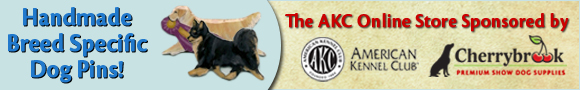 Handmade Breed Specific Dog Pins! The AKC Online Store Sponsored by Cherrybrook