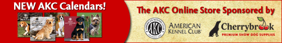 New AKC Calendars! The AKC Online Store Sponsored by Cherrybrook