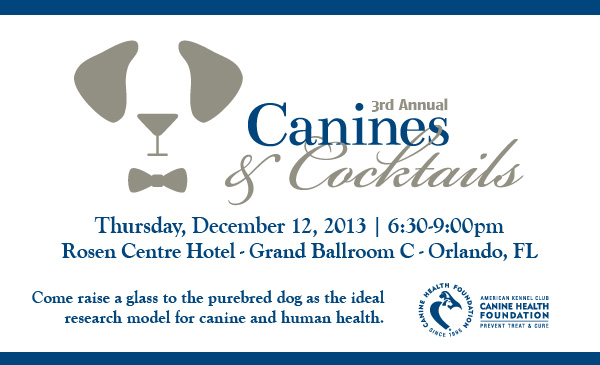 3rd Annual Canines and Cocktails