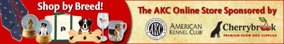 Shop by Breed! The AKC Online Store Sponsored by Cherrybrook