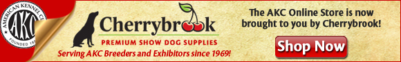 The AKC Store is now brought to you by Cherrybrook