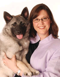 Lisa Peterson with Jinx