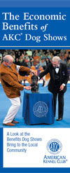 The Economic Benefits of AKC Dog Shows
