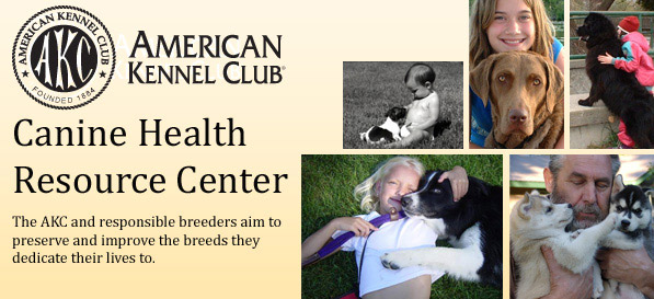 AKC Canine Health Resource Center