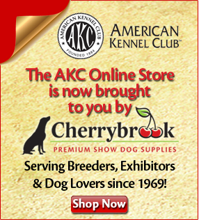 The AKC Online Store is now brought to you by Cherrybrook