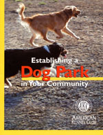 Establishing a Dog Park in Your Community