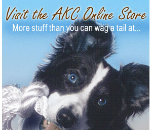 Visit the AKC Online Store